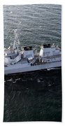The Guided-missile Destroyer Uss Laboon Beach Towel