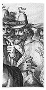 The Gunpowder Rebellion, 1605 Beach Towel