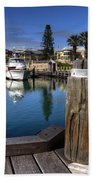 The Harbour At Mindarie Beach Towel