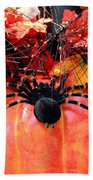 The Harvest Spider Beach Towel