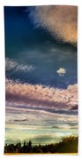 The Heavy Clouds Beach Towel