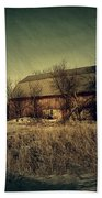 The Hiding Barn Beach Towel by Joel Witmeyer