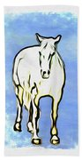 The Horse Beach Towel by Bill Cannon