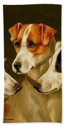 The Hounds Beach Towel by Alfred Wheeler