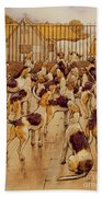 The Hounds Began Suddenly To Howl In Chorus  Beach Towel