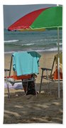 The Idyll On The Mediterranean Shore Beach Towel