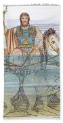 The Iliad: Neptune, 1805 Beach Towel