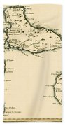 The Islands Of Guadeloupe Beach Towel