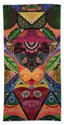 The Joy Of Design Series Arrangement Embracing Complexity Beach Towel