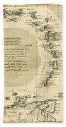 The Lesser Antilles Or The Windward Islands Beach Sheet
