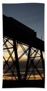 The Lethbridge Bridge Beach Towel