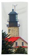 The Lighthouse Of Tatoosh Beach Towel
