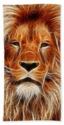 The Lion Sleeps Tonight Beach Towel