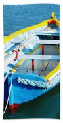 The Little Boat. Beach Towel