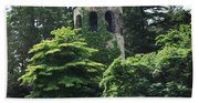 The Longwood Gardens Castle Beach Towel