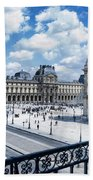 The Louvre Beach Towel