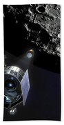 The Lunar Crater Observation Beach Towel