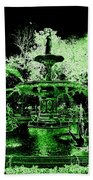 Green Savannah Beach Towel