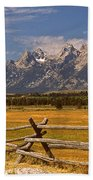 The Majestic Tetons Beach Sheet