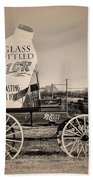 The Milk Wagon Beach Towel