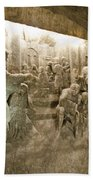 The Miracle At Cana In Galilee - Wieliczka Salt Mine Beach Towel