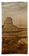 The Mittens At Monument Valley Beach Towel