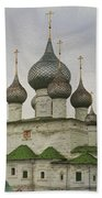 The Monastery Of The Resurrection. Uglich Russia Beach Towel