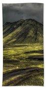 The Mountain Pass Beach Towel by Evelina Kremsdorf