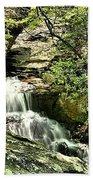 The Mystery Waterfall Beach Towel