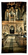 The Nave At St Davids Cathedral 2 Beach Towel