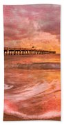The Old Fishing Pier Beach Towel