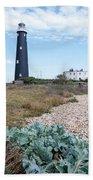 The Old Lighthouse Beach Towel
