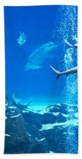 The Peaceable Underwater Kingdom Beach Sheet
