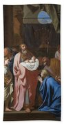 The Presentation Of Christ In The Temple Beach Towel