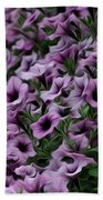 The Purple Sea Beach Towel