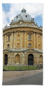 The Radcliffe Camera Beach Towel