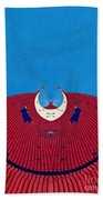 the red dress - Archifou 71 Beach Towel by Aimelle