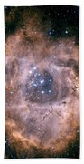 The Rosette Nebula Beach Towel