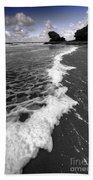 The Sea And The Foam Beach Towel