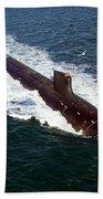 The Seawolf-class Nuclear-powered Beach Towel