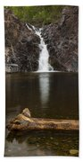 The Shallows Waterfall 2 Beach Towel