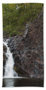 The Shallows Waterfall 4 Beach Towel