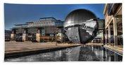 The Sphere At Bristol Beach Towel