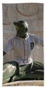 The Spirit Of Detroit Tigers Beach Sheet