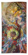 The Spirit Of Flowers Beach Towel