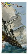 The Swedish Warship Vasa Beach Towel