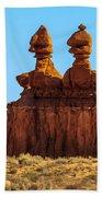 The Three Goblins Beach Towel