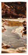 The Tide Is Out Beach Towel