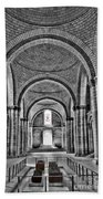 The Tombs At Fontevraud Abbey   France Beach Towel