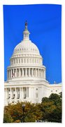 The United States Capitol Beach Towel